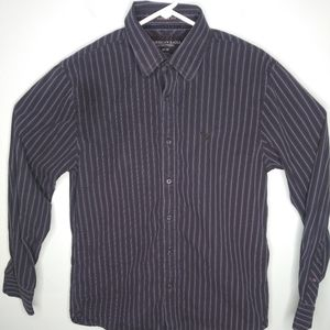 American Eagle Long Sleeve Button Front Shirt